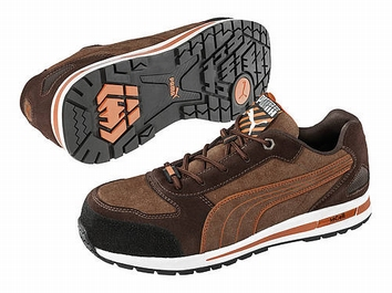 Puma safetyboots Barani Low Brown