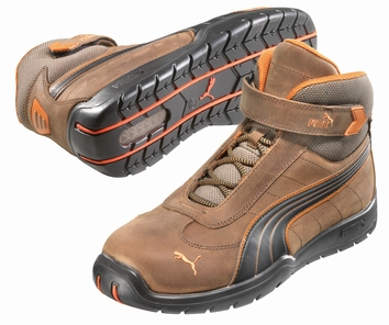 Puma safetyboots Indy Mid Brown