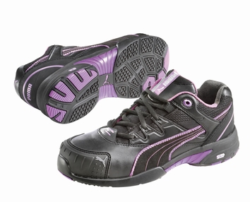 Puma safetyboots Stepper Wns Low black/violet