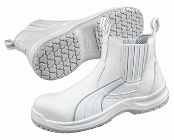 Puma safetyboots Clear Chelsea Mid