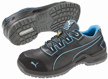 Puma safetyboots Niobe Low Blue