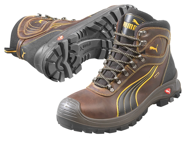 f22692f7ec0 Puma safetyboots Sierra Nevada Mid Sympatex Brown