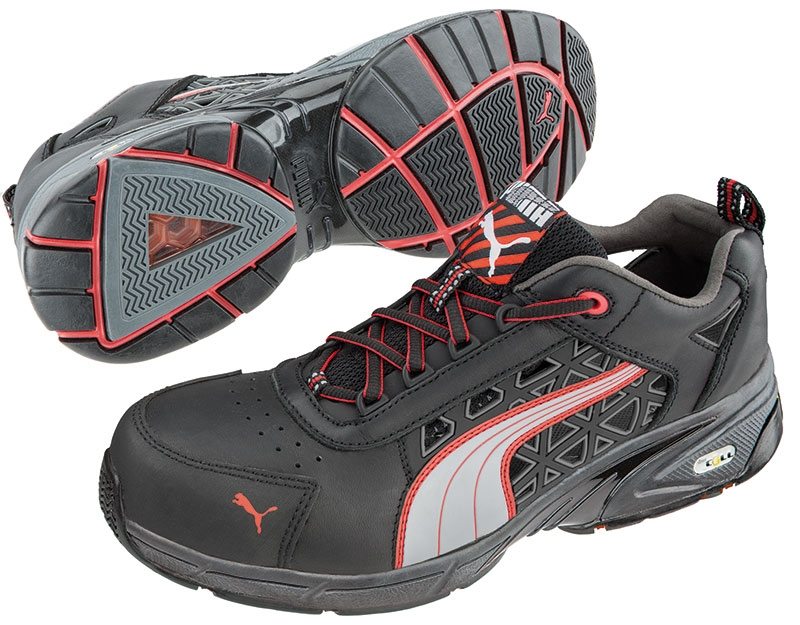 6af7656a7a1 Puma safety shoes Stream red low
