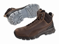 Puma safetyboots Condor Mid Brown