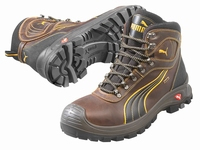 Puma safetyboots Sierra Nevada Mid Sympatex Brown