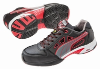 Puma safetyboots Stream Red Wns Low Black